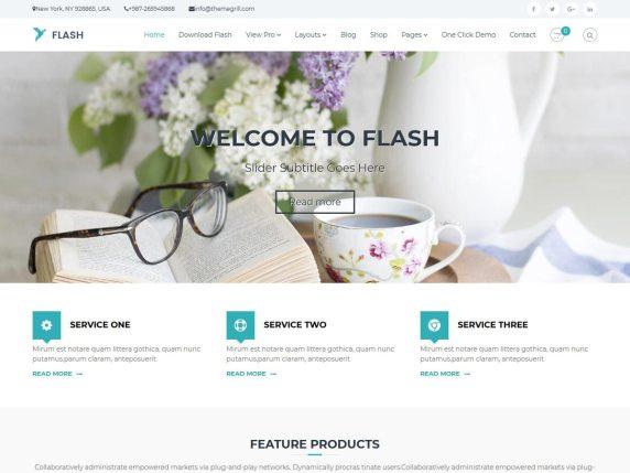 Flash Best Corporate WordPress Themes