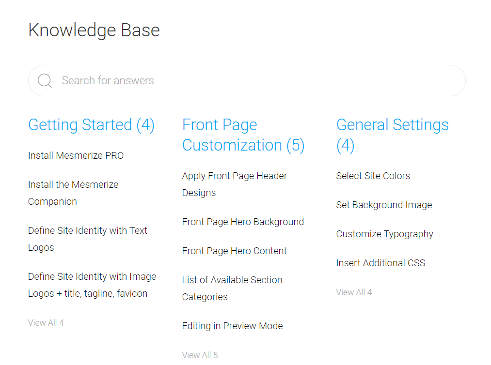 Best Free Business Theme to create a Mesmerized Website docs