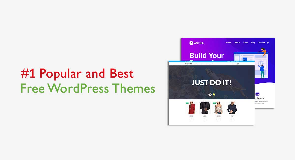 Popular Free WordPress Themes for 2020