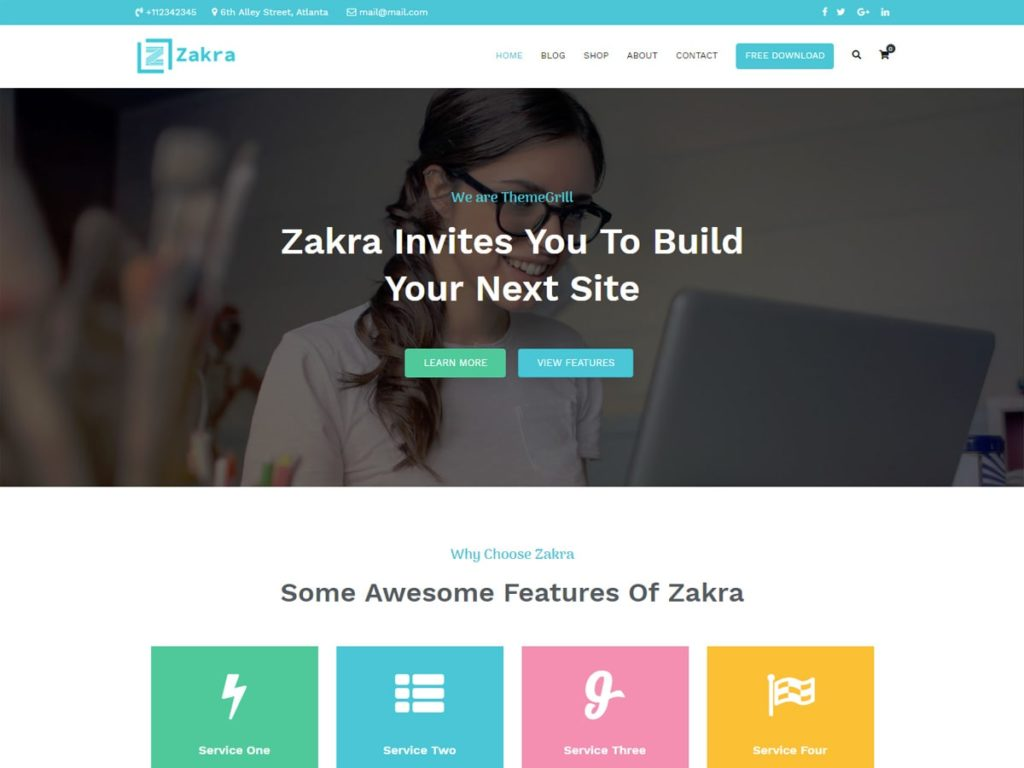 free WordPress business themes
