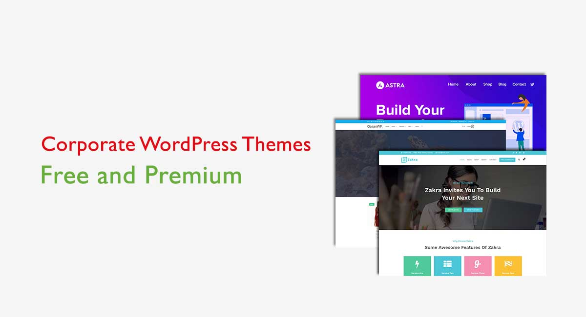 10+ Best Corporate WordPress Themes for your Business Website in 2020