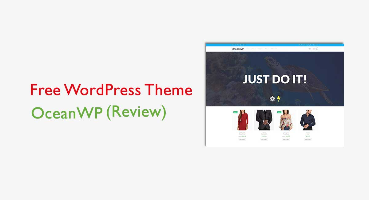 Best Free WordPress Theme OceanWP [Review]