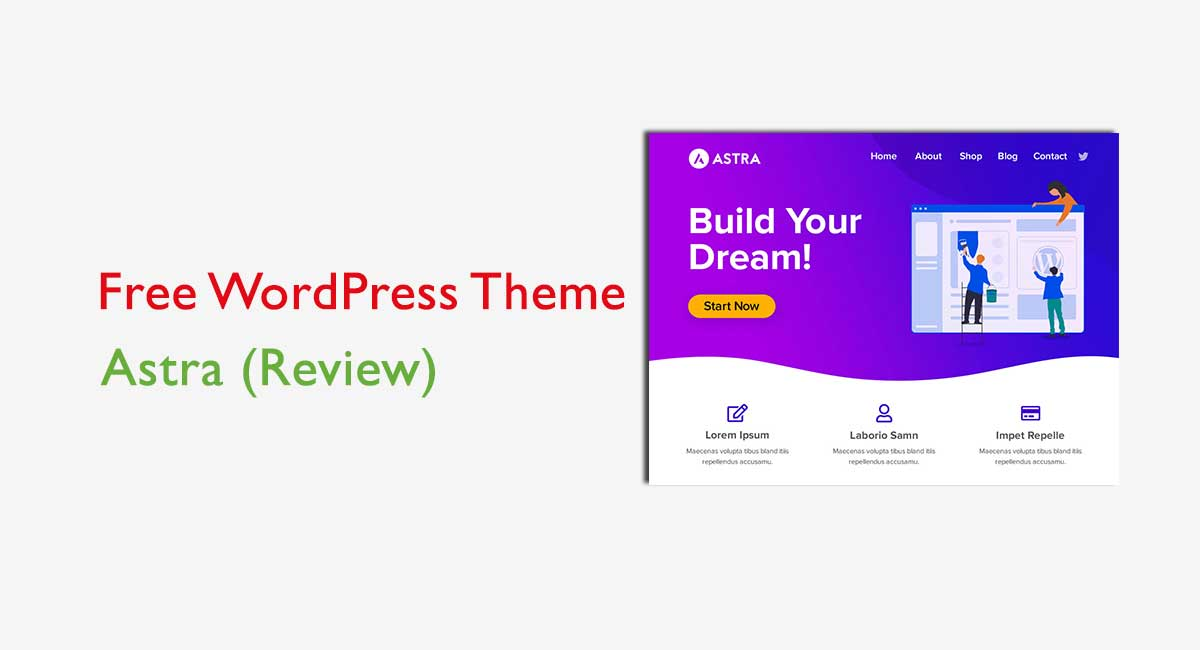 How to Start your Website with Astra WordPress theme?