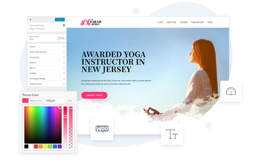 astra WordPress theme for free