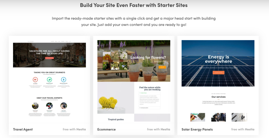 Hestia Free Corporate WordPress Theme Review