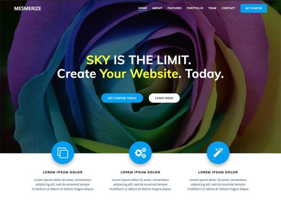 Best Free Business Theme to create a Mesmerized Website