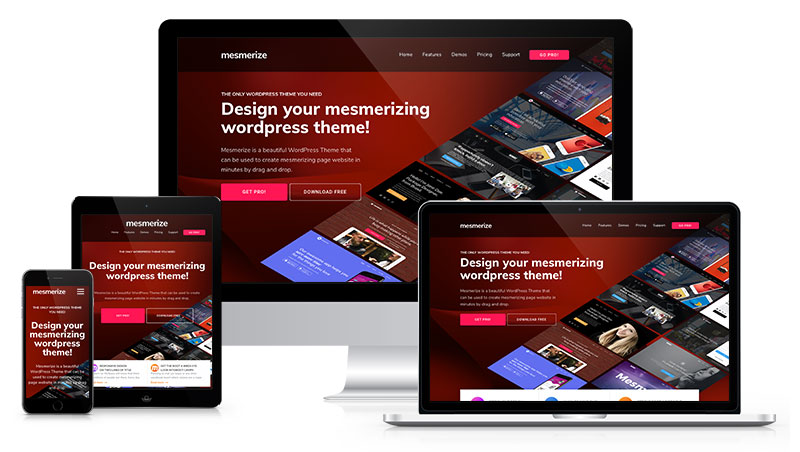 Best Free Business Theme to create a Mesmerized Website responsive