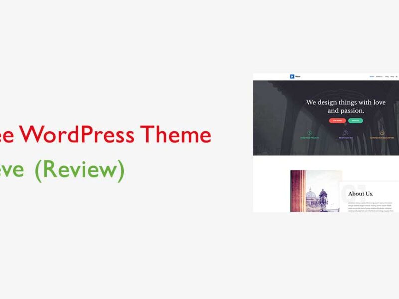 Best Free WordPress Theme Neve